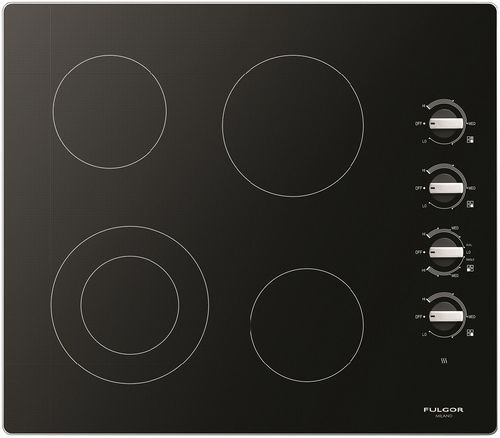 """Fulgor Milano® 300 Series 24"""" Electric Cooktop-Stainless Steel-F3RK24S2"""