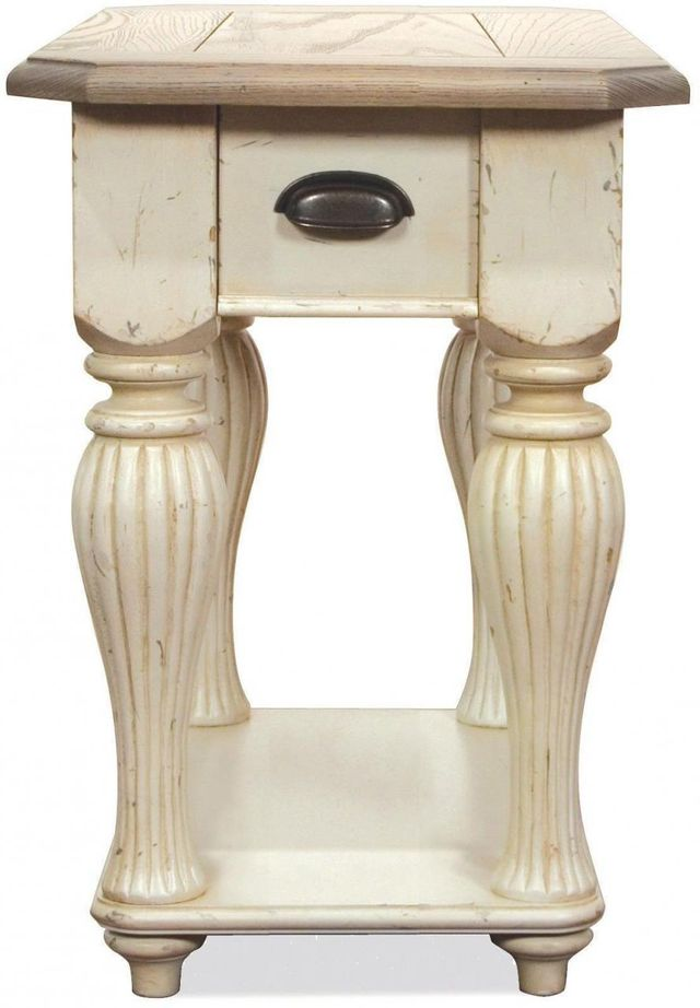 Riverside Furniture Coventry Two Tone Chairside Table-32512