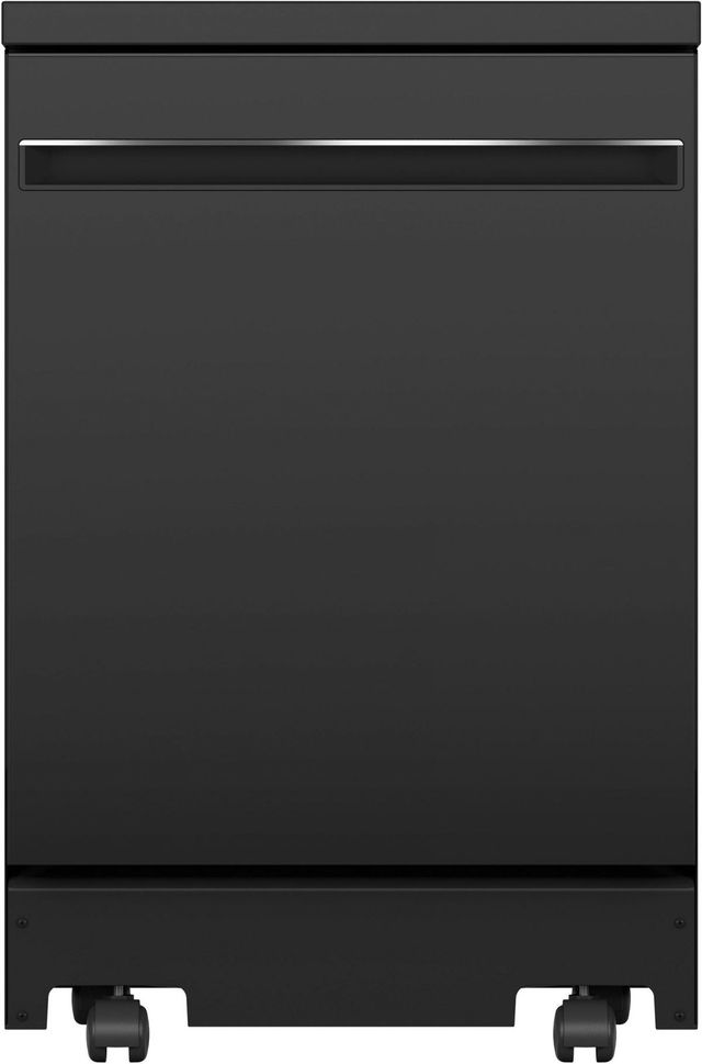 "GE® 24"" Black Portable Dishwasher-GPT225SGLBB"