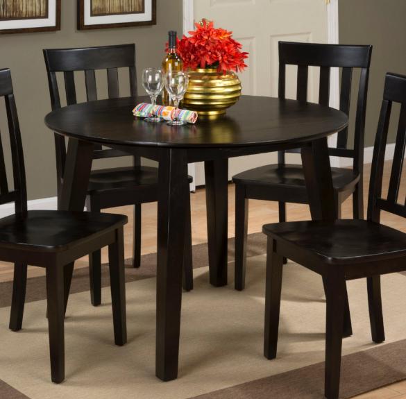 Jofran Inc. Simplicity Round Drop Leaf Table-552-28
