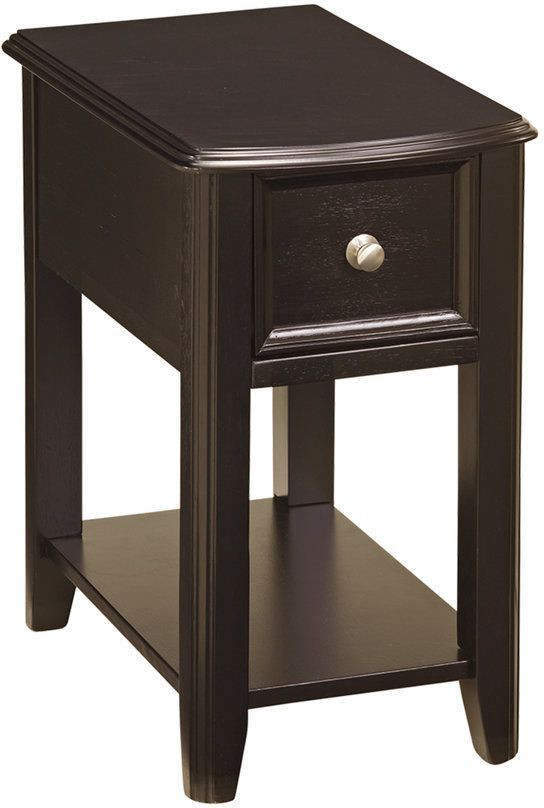Signature Design by Ashley® Breegin Almost Black Chair Side End Table-T007-371
