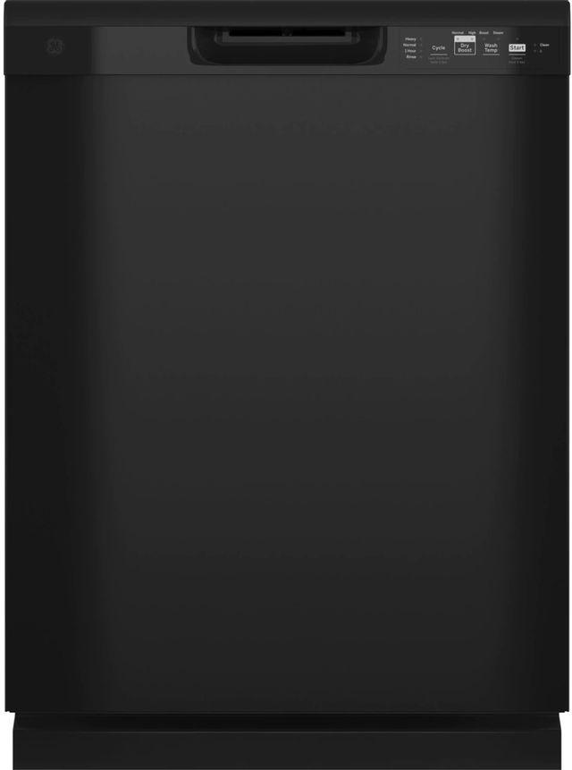 "GE® 24"" Black Built In Dishwasher-GDF511PGRBB"