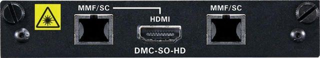 Crestron® 2-Channel DigitalMedia 8G™ Fiber Output Card for DM® Switchers-DMC-SO-HD