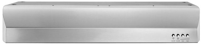 "Whirlpool® Gold® 29.94"" Stainless Steel Under Cabinet Range Hood-WVU7130JS"