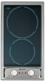 """Verona® 12"""" Electric Deluxe Ceran Cooktop-Stainless Steel-VEECT110VFSS"""