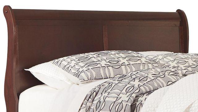 Signature Design by Ashley® Alisdair - Dark Brown Full Sleigh Headboard/Footboard-B376-55