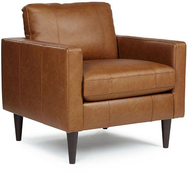 Best Home Furnishings® Trafton Espresso Chair & A Half With Air Dream Twin Sleeper-C10ELU