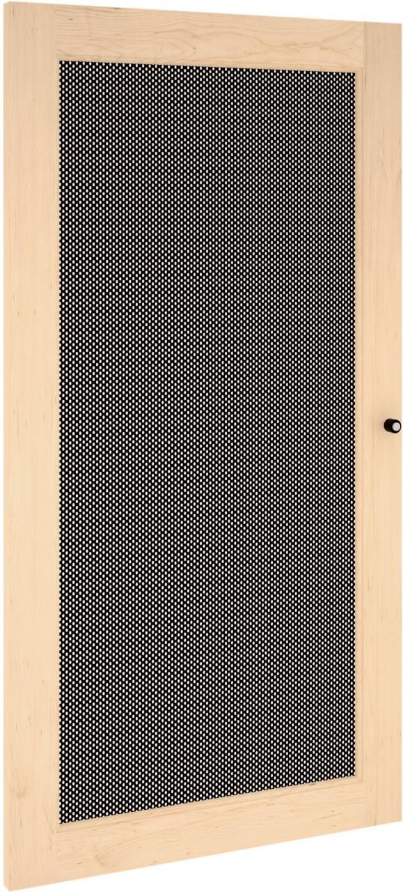 Salamander Designs® Synergy S40 Door-Natural Maple/Perforated Steel-SD40M/P