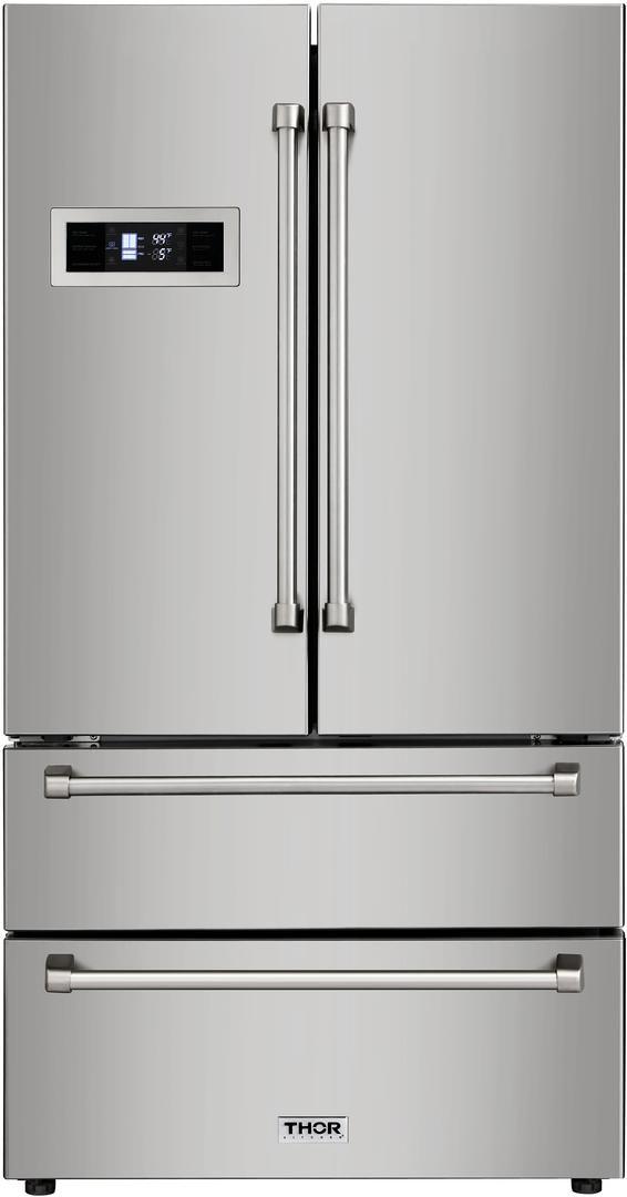 Thor Kitchen® 20.85 Cu. Ft. Counter Depth French Door Refrigerator-HRF3601F