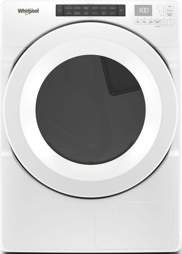 Whirlpool® 7.4 Cu. Ft. White Front Load Electric Dryer-WHD560CHW