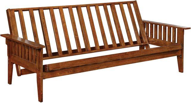 Coaster® Dirty Oak Slat Futon Frame-4382