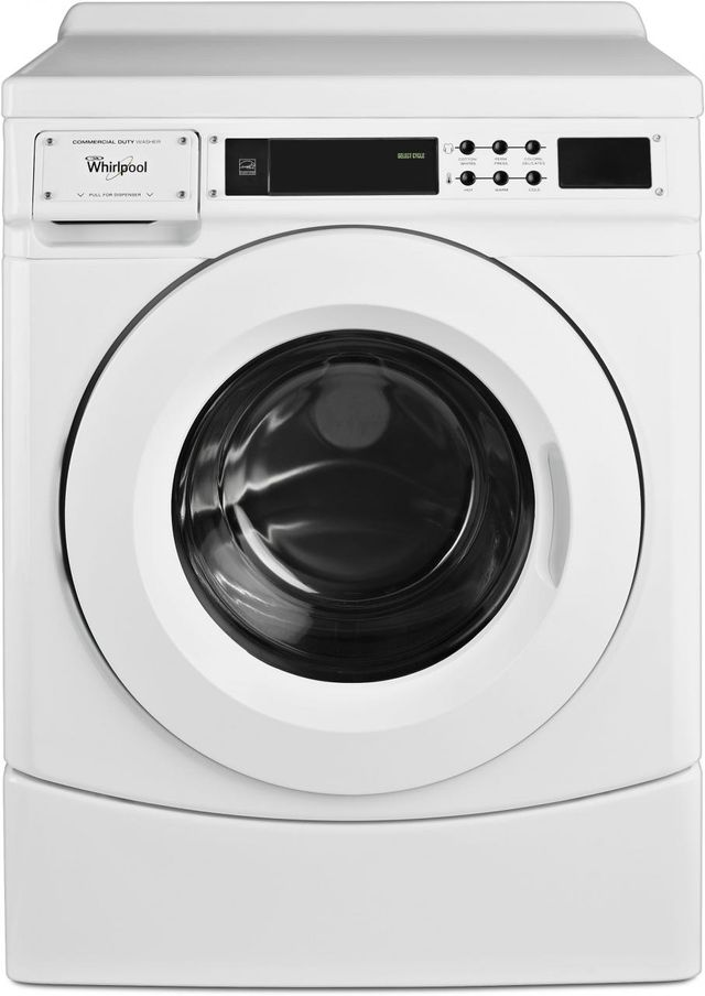 Whirlpool® 3.1 Cu.Ft. White Front Load Washer-CHW9160GW