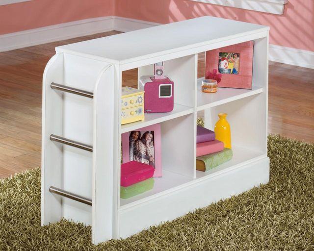 Signature Design by Ashley® Lulu White Loft Bookcase with Ladder-B102-17