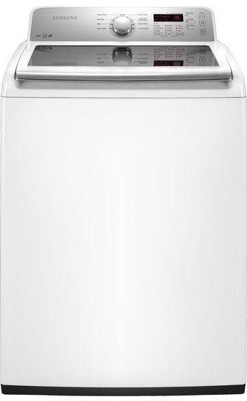 Samsung Top Load Washer-White-WA422PRHDWR/AA