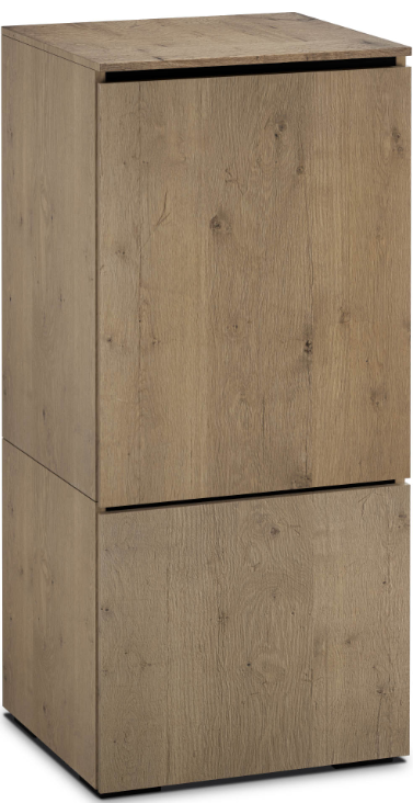 Salamander Designs® Chameleon Lancaster 517 Barnboard Oak AV Cabinet-C/LA517/BBO