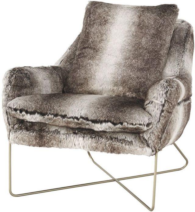 Signature Design By Ashley® Wildau Gray Accent Chair-A3000054
