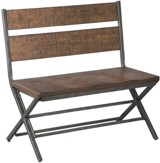 Kavara Medium Brown Double Dining Chair-D469-08