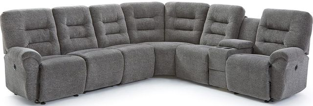 Best Home Furnishings® Unity 7-Piece Reclining Sectional-M730R4L+RA+RA+RW+R4A+M1RD+R4R