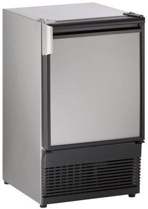 """U-Line 15"""" Marine Crescent Ice Maker-Stainless Steel-ULN-SS98NF-03A"""
