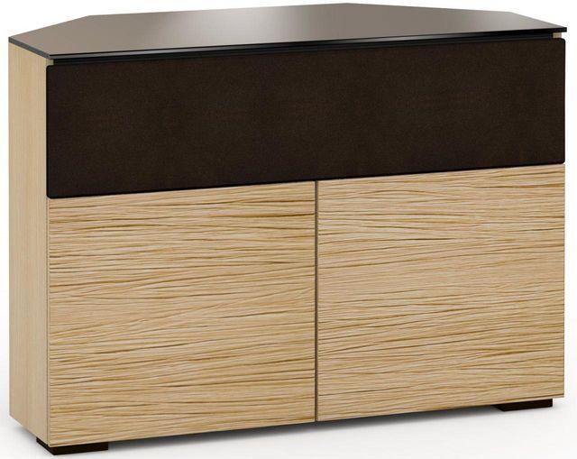 Salamander Designs® Denver 329 CR Corner Cabinet-Textured Natural Oak-C/DV329CR/NO