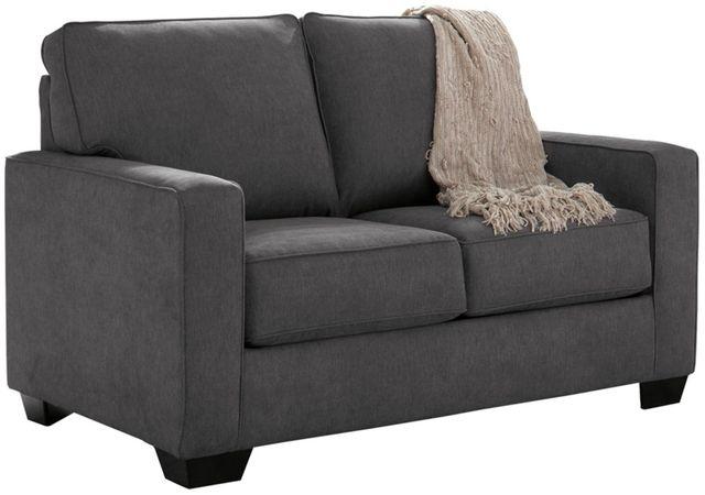 Signature Design by Ashley® Zeb Charcoal Twin Sofa Sleeper-3590137