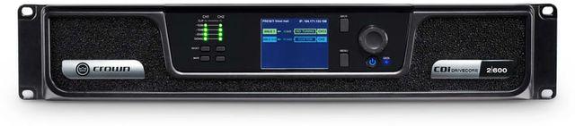 Control4® Crown Cdi DriveCore Series Black 2 Channel Amplifier-ZHA-GCDI2x600-U-US
