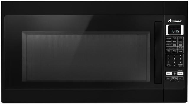 Amana® Over The Range Microwave-Black-AMV6502REB