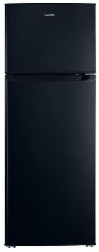 Galanz 7.6 Cu. Ft. Black Top Mount Freezer Refrigerator-GLR76TBKE