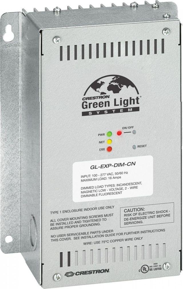 Crestron® Green Light® Dimmer Expansion Module-GL-EXP-DIM-CN