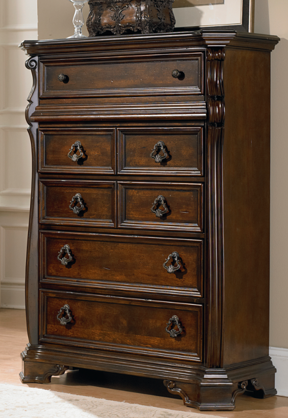 Liberty Furniture Arbor Place Brownstone 6 Drawer Chest-575-BR41