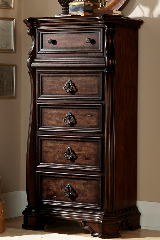 Liberty Furniture Arbor Place Brownstone Lingerie Chest-575-BR42