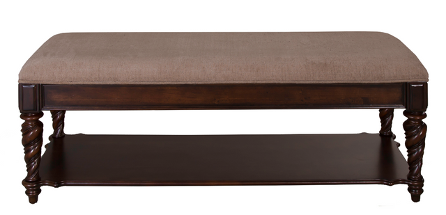 Liberty Furniture Arbor Place Brownstone Bed Bench-575-BR47