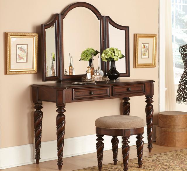 Liberty Furniture Arbor Place Tri View Vanity Mirror-575-BR56