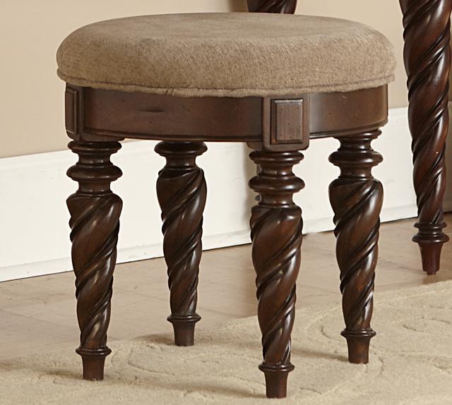 Liberty Furniture Arbor Place Brownstone Vanity Stool-575-BR99