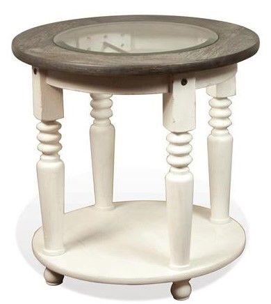 Riverside Furniture Juniper Round Side Table-44409