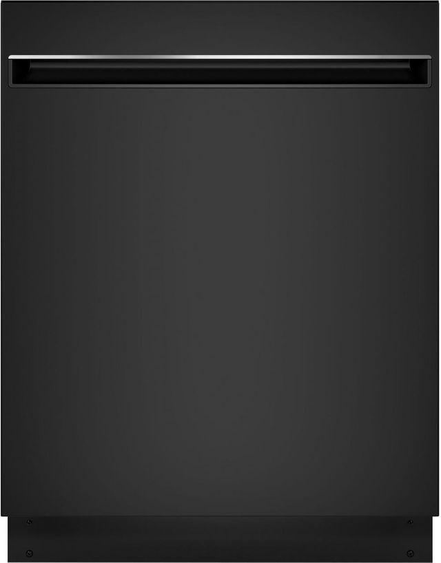 """GE® 24"""" Built-In Dishwasher-Black on Black-GDT225SGLBB"""