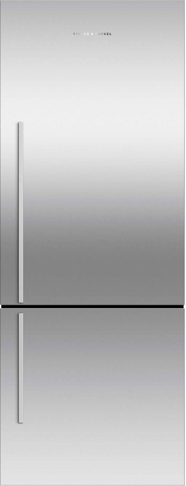 Réfrigérateur à congélateur inférieur à profondeur de comptoir de 24 po Fisher Paykel® de 13,4 pi³ - Acier inoxydable-RF135BDRJX4