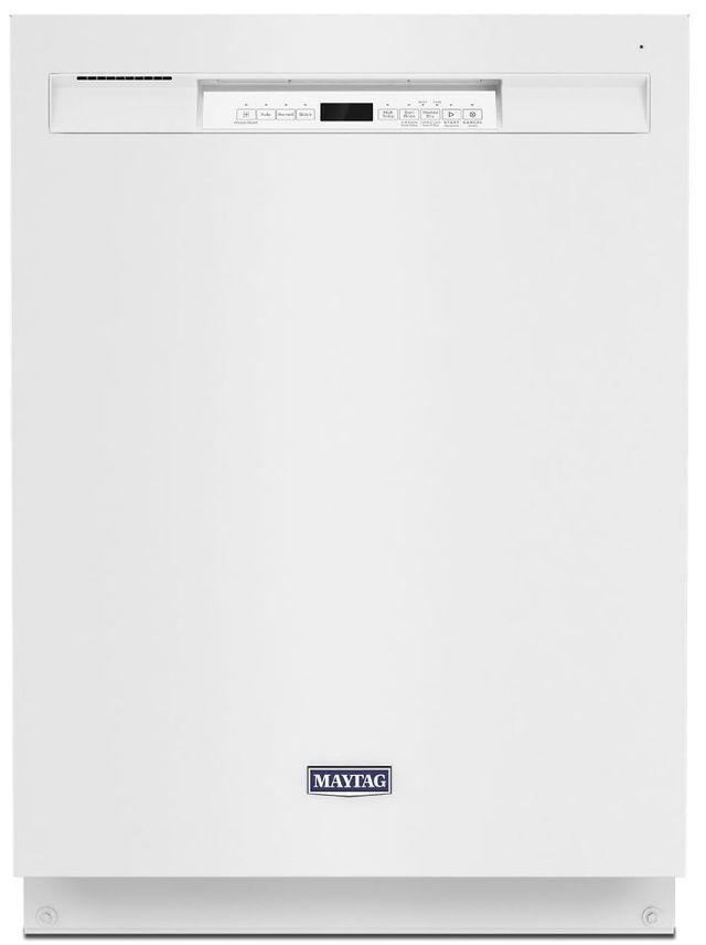 """Maytag® 24"""" White Built In Dishwasher-MDB4949SKW"""
