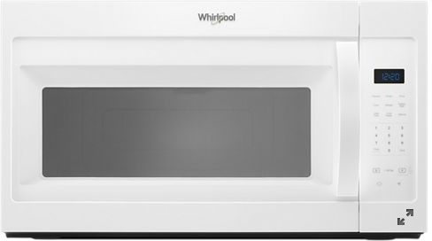 Whirlpool® 1.7 Cu. Ft. White Over The Range Microwave-YWMH31017HW