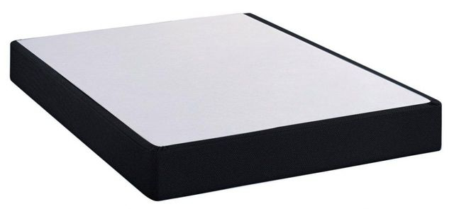 Restonic® Black Full XL Standard Profile Foundation-BlackFoundation-FXL