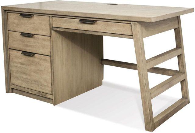 Riverside Furniture Perspectives Single Pedestal Desk-28130