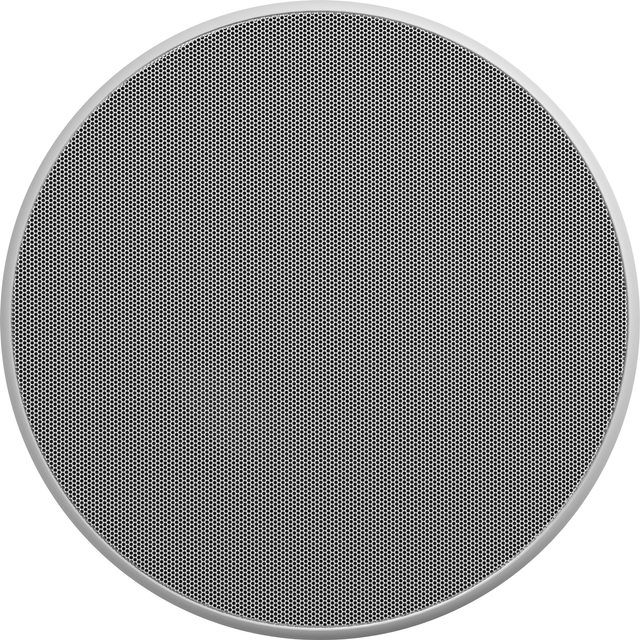 Bowers & Wilkins CCM382 Flexible Series Circle-Grille In-Ceiling Speaker-CCM382-CG