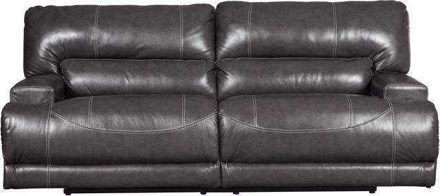 Signature Design by Ashley® McCaskill Gray Reclining Sofa-U6090081