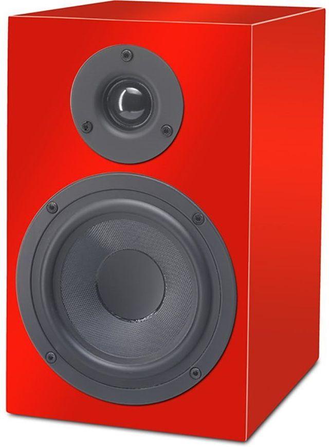 Pro-Ject Speaker Box 5 Red 2-Way Monitor Speaker-Speaker Box 5-RD