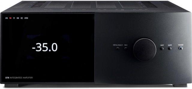 Anthem® 2 Channel Black STR Integrated Amplifier-1412000009
