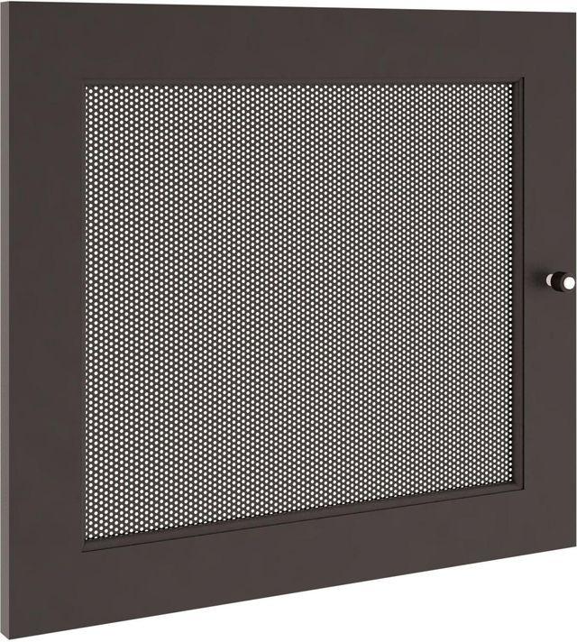 Salamander Designs® Synergy S20 Door-Black/Perforated Steel-SD20B/P
