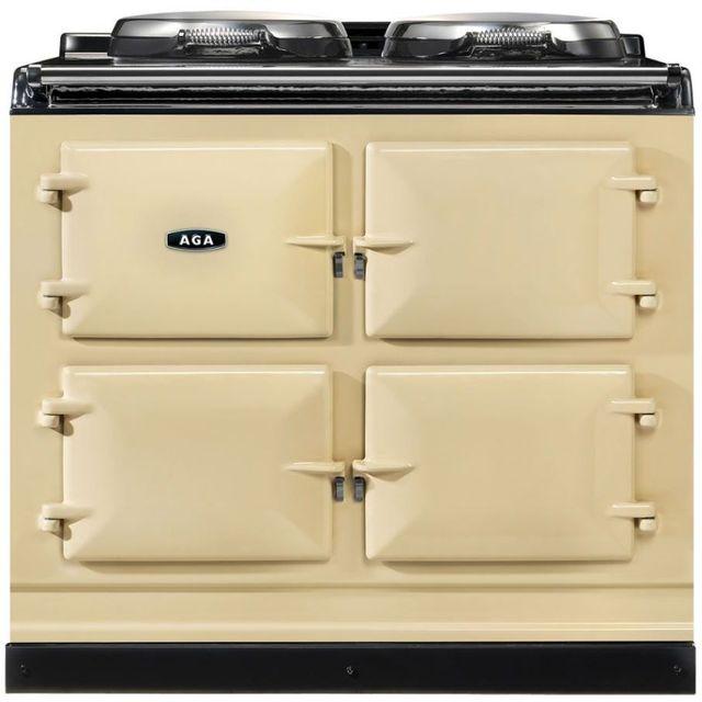 """AGA 39"""" Cream Dual Control Natural Gas Range-ADC3G-CRM"""