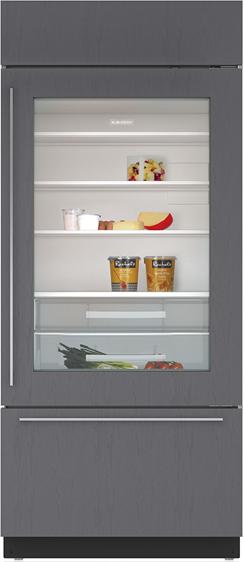 Sub-Zero® 21.6 Cu. Ft. Built In Bottom Freezer Refrigerator-BI-36UG/O-RH