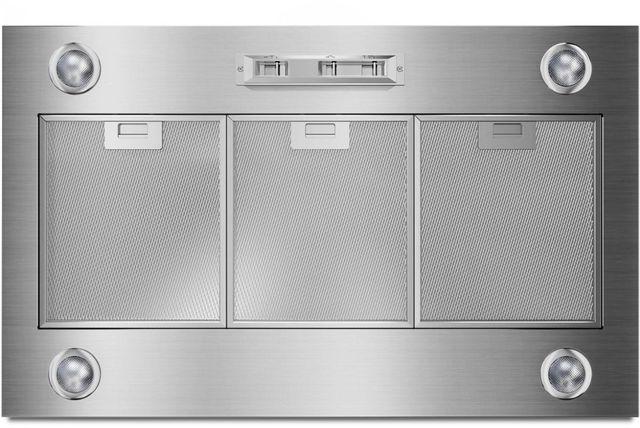 "Whirlpool® 36"" Stainless Steel Custom Hood Liner-UVL6036JSS"