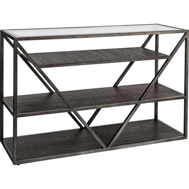 Liberty Furniture Arista Cobblestone Sofa Table-37-OT1030